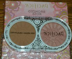 2x bronzed rose blush and bronzer in