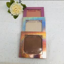 3 pcs- blush highlighter and bronzer Makeup Palette By Color