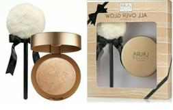 Laura Geller All over Glow Kit ~ Gilded Glow Baked Body Fros