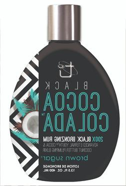 Black Cocoa Colada Tanning Lotion with 200X Black Bronzing R
