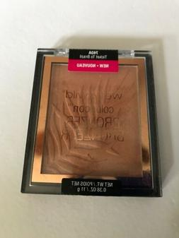 WET N WILD COLORICON BRONZER - TICKET TO BRAZIL #740A NEW, 2