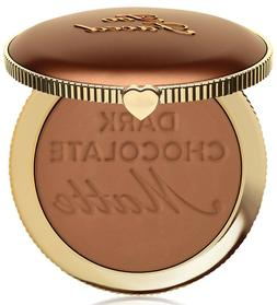 Too Faced Dark Chocolate Soleil Matte Bronzer Deep To Tan 0.