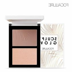 Double Head 3D Bronzer Highlighter For Face Makeup Stick Cre