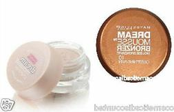 MAYBELLINE DREAM MOUSSE BRONZER or SHIMMER  CHOOSE YOUR COLO