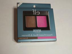 E.L.F. ELF AQUA Beauty Aqua-Infused Blush and Bronzer - Bron