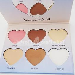 City Color Highlighter Blush HD Powder Contour Bronzer Blush