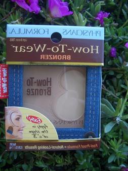 PHYSICIANS FORMULA HOW-TO-WEAR BRONZER W/ MIRROR AND BRUSH,