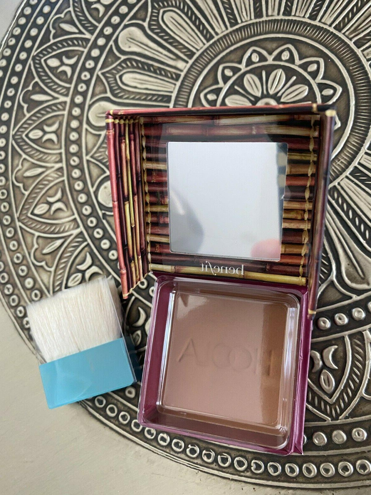 $30 Benefit HOOLA Matte Bronzing Powder & Brush 0.28 Oz 8 g