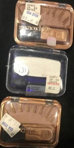 New 3 Pk Covergirl Cheekers Blendable Powder (Bronzer Copper