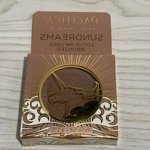new natural minerals sundreams lotus infused bronzer