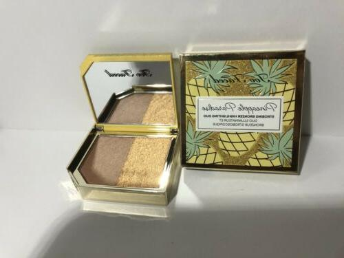 pineapple paradise strobing bronzer highlighter duo8g toaste