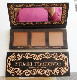 Lovecraft Beauty ~ Bronzer Palette, Set of 3 Shades, NEW IN