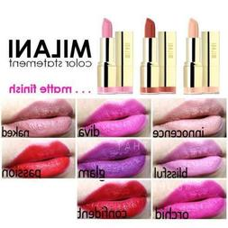 Milani Matte Perfect Color Statement Lipstick Updated Colors