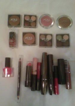 Ulta - Mixed Lot of 17 Pcs - Eye, Lip, Bronzer, Nail - Full
