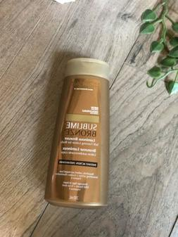 New L'oreal sublime bronzer Luminous Self-tanning Lotion 2