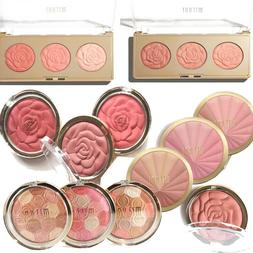 Milani Blush Rose, Baked, Harmony, Flower Trio Powder, Drapi