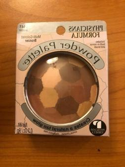 PHYSICIANS FORMULA POWDER PALETTE MULTI-COLORED BRONZER #144
