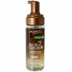 Loreal Sublime Bronze Hydrating Self-Tanning Water Mousse -