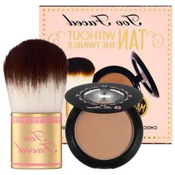 Too Faced Tan Without The Twinkle Matte Soleil Bronzer & Fla